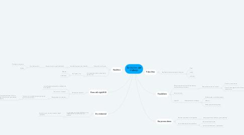 Mind Map: Evolucion del trabajo