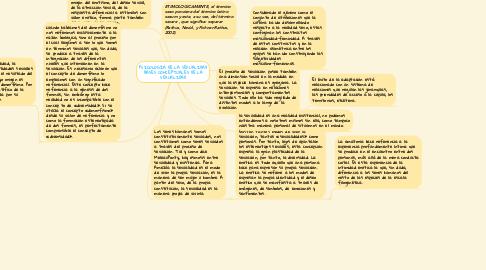 Mind Map: PSICOLOGÍA DE LA SEXUALIDAD BASES CONCEPTUALES DE LA SEXUALIDAD