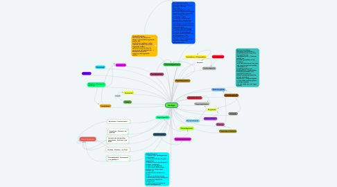 Mind Map: Ecologie