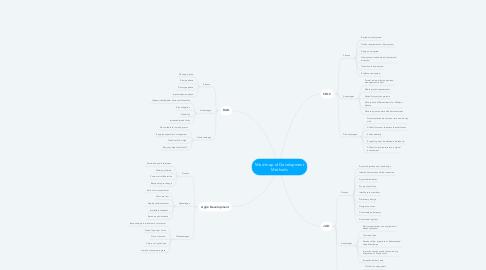 Mind Map: Mind map of Development Methods