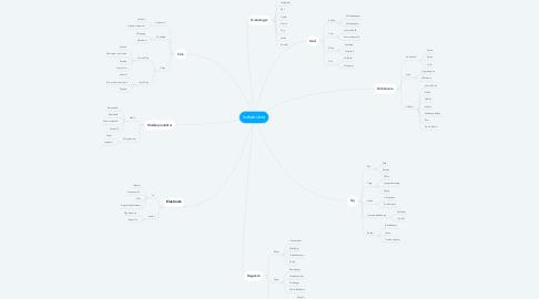 Mind Map: Indkøbsliste