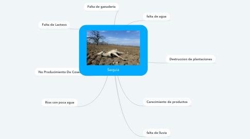 Mind Map: Sequia