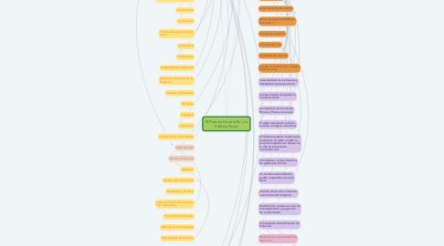Mind Map: El Plan de Desarrollo y la Política Fiscal