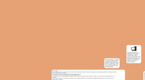 Mind Map: informática jurídica y  D informatico
