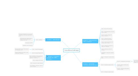 Mind Map: Curso Bônus HotIntegra