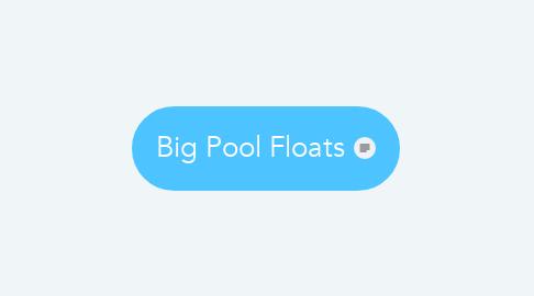 Mind Map: Big Pool Floats