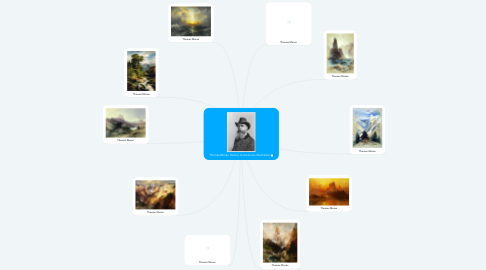Mind Map: Thomas Moran History of American Illustration