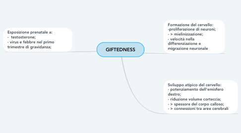 Mind Map: GIFTEDNESS