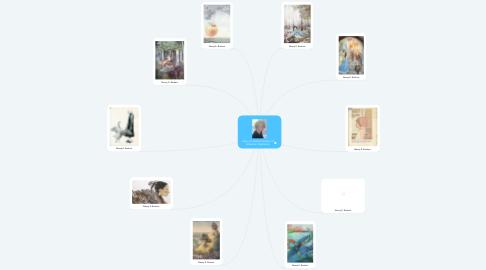 Mind Map: Nancy E. Burkert History of American Illustration