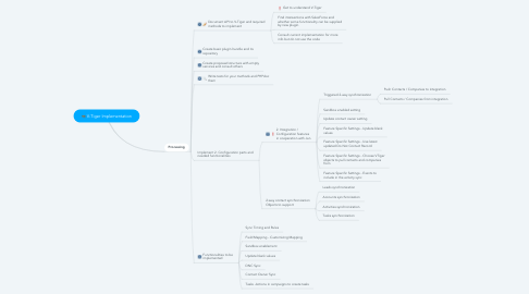 Mind Map: V-Tiger Implementation