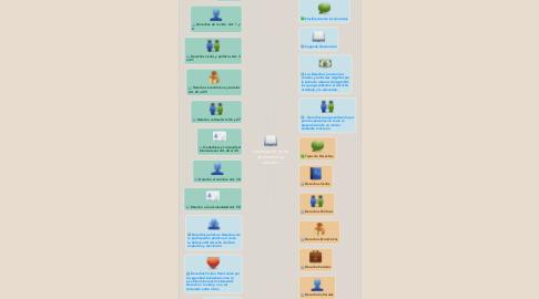 Mind Map: clasificación, tipos de derechos y artículos