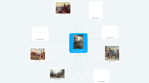 Mind Map: Clyde O. Deland History of American Illustration