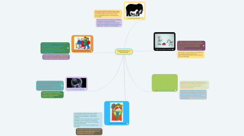 Mind Map: ENFOQUES DE LA PSICOLOGIA