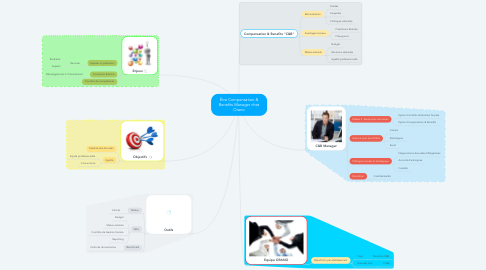 Mind Map: Être Compensation & Benefits Manager chez Orano