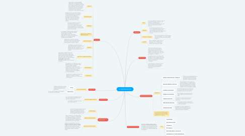 Mind Map: LA ORGANIZACIÓN