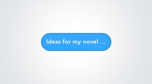 Mind Map: Ideas for my novel ...