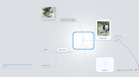 Mind Map: Puppy