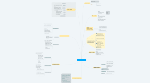 Mind Map: Desarrollo Organizacional
