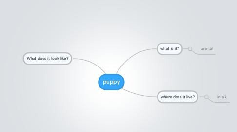 Mind Map: puppy