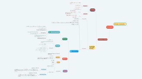 Mind Map: VI SINH