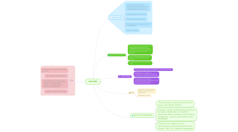 Mind Map: KIM PEEK