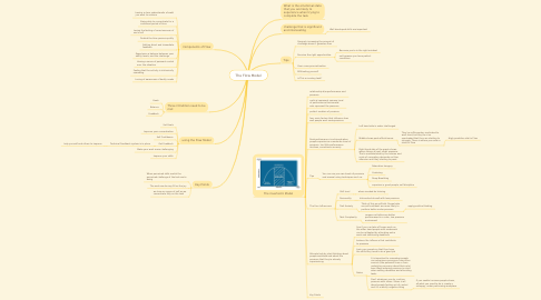 Mind Map: The Flow Model
