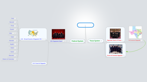 Mind Map: Court Systems