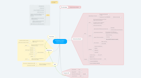 Mind Map: INTERNACIONAL I PROCOMUNS