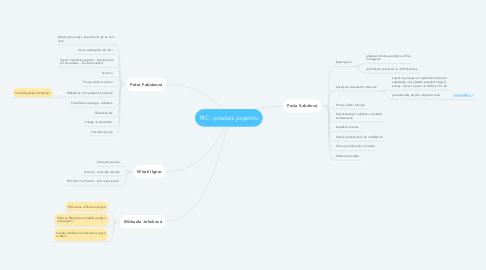 Mind Map: RIC - předání projektu