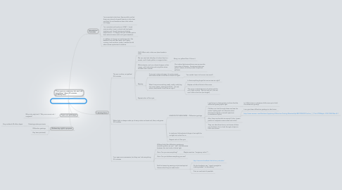 Mind Map: 2011 Fall Kindergarten Outreach