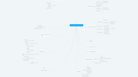 Mind Map: Copy of Target Operating Model
