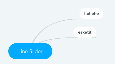 Mind Map: Line Slider