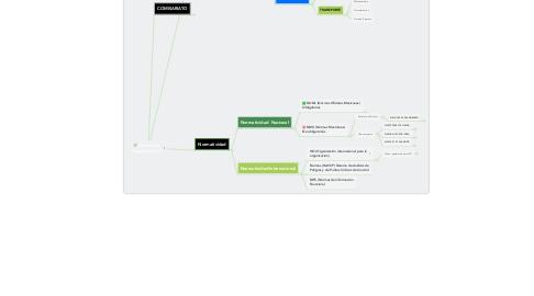 Mind Map: Estructura Organizacional