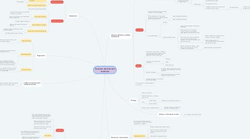 Mind Map: Trastorno de la función vestibular