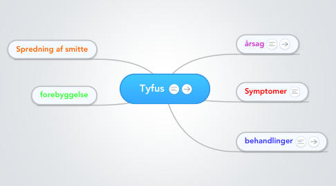 Mind Map: Tyfus