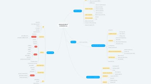 Mind Map: MANAGEMENT COMMERCIAL