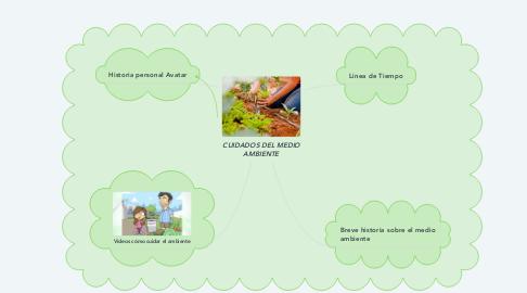 Mind Map: CUIDADOS DEL MEDIO AMBIENTE