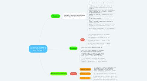 Mind Map: Infracciones, sanciones y medidas de prevención en materia aduanera.