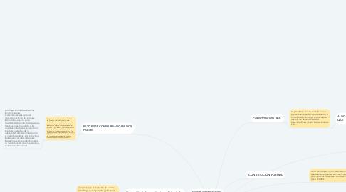 Mind Map: DERECHO CONSTITUCIONAL I