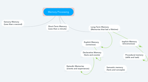 Mind Map: Memory Processing