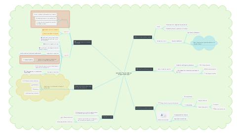 Mind Map: Elementos que consolidan en concepto de profesión