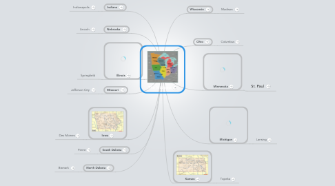 Mind Map: The Midwest