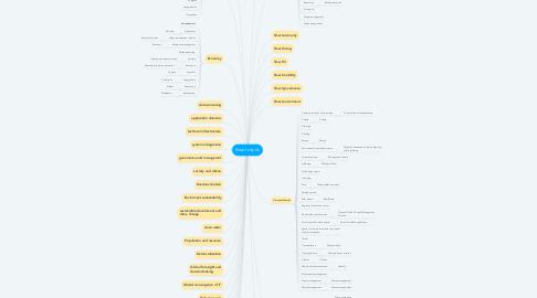 Mind Map: Smart city IA