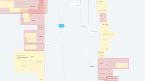 Mind Map: A célula