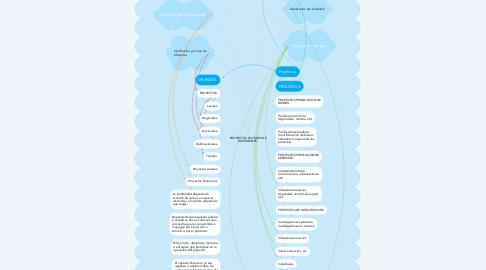 Mind Map: PROYECTOS SOCIALES DE INVERSIONES.