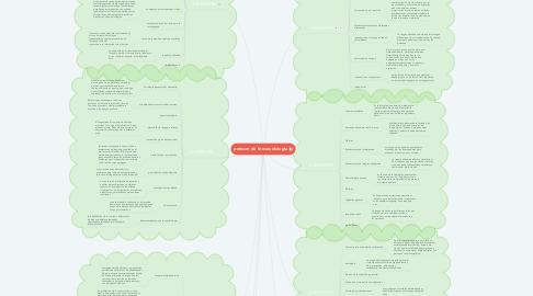 Mind Map: pensum de fonoaudiologia