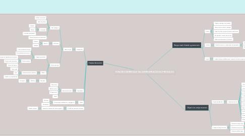 Mind Map: FUNÇÕES GERENCIAIS NA ADMINISTRAÇÃO DA PRODUÇÃO