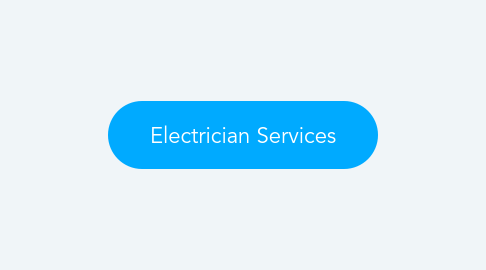 Mind Map: Electrician Services