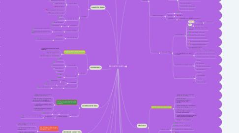 Mind Map: PROJETO CAROL