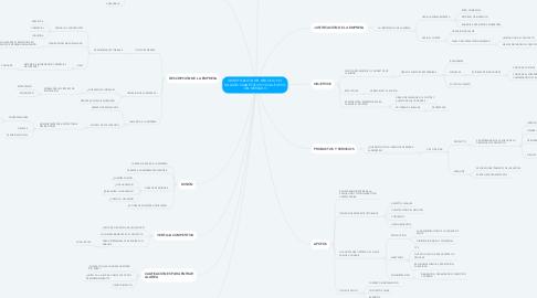 Mind Map: IDENTIFICACIÓN DEL NEGOCIO Y EL ANÁLISIS CUANTITATIVO Y CUALITATIVO DEL MERCADO